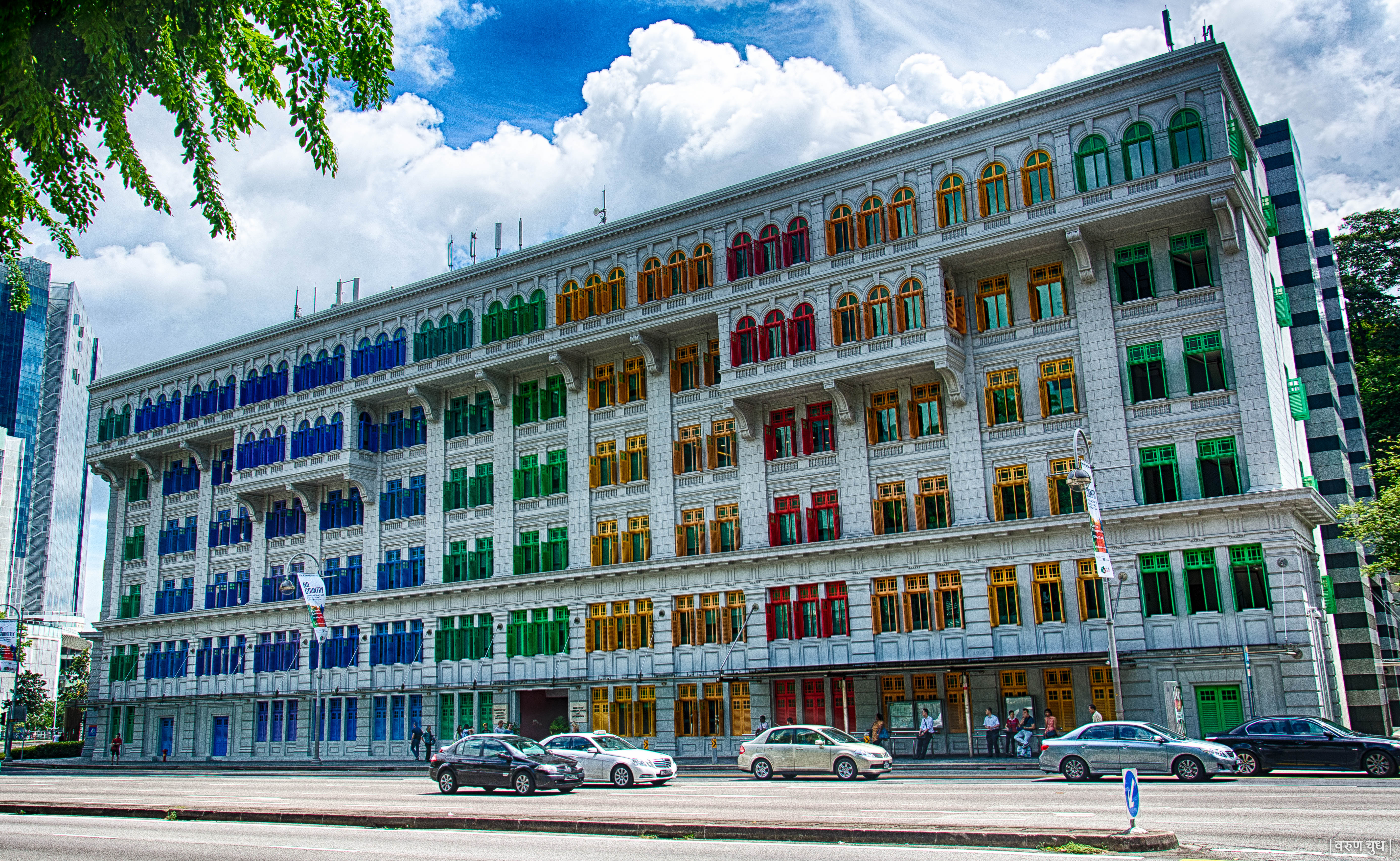 MICA Building, Novotel, Clarke Quay, Singapore, Hill St, Hill Street