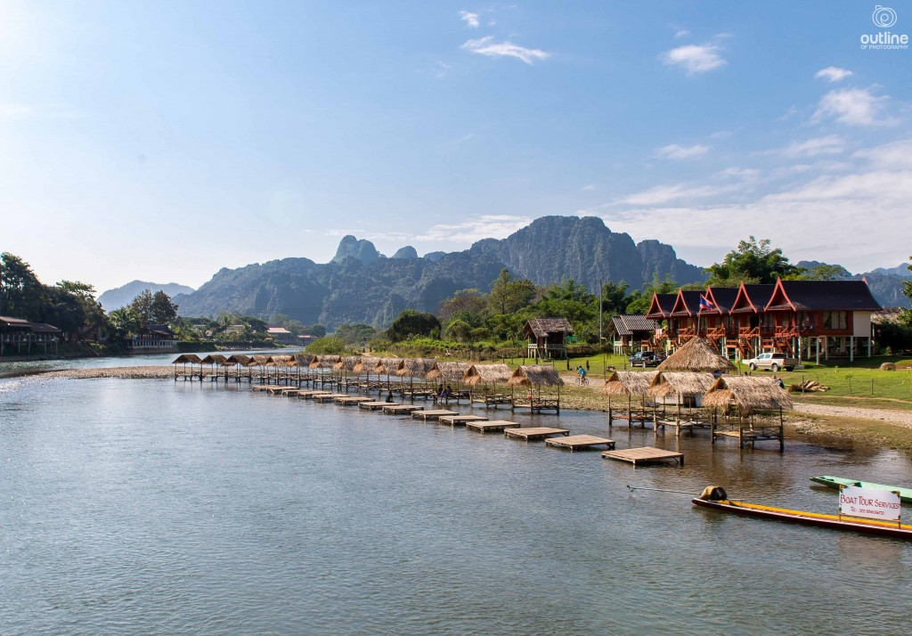 Other Side Bungalow, Nam Song, Vang Vieng, Laos