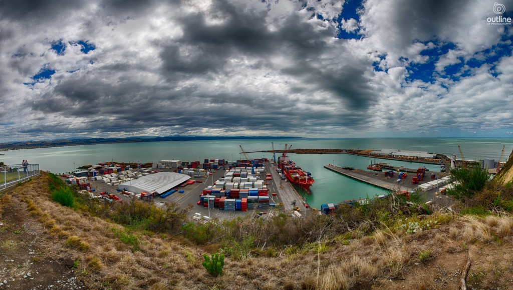 Napier port, Bluff Hill, Napier, New Zealand