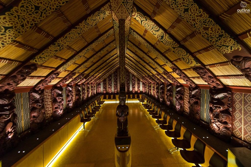 Maori meeting room, Ta Papa Museum of New Zealand