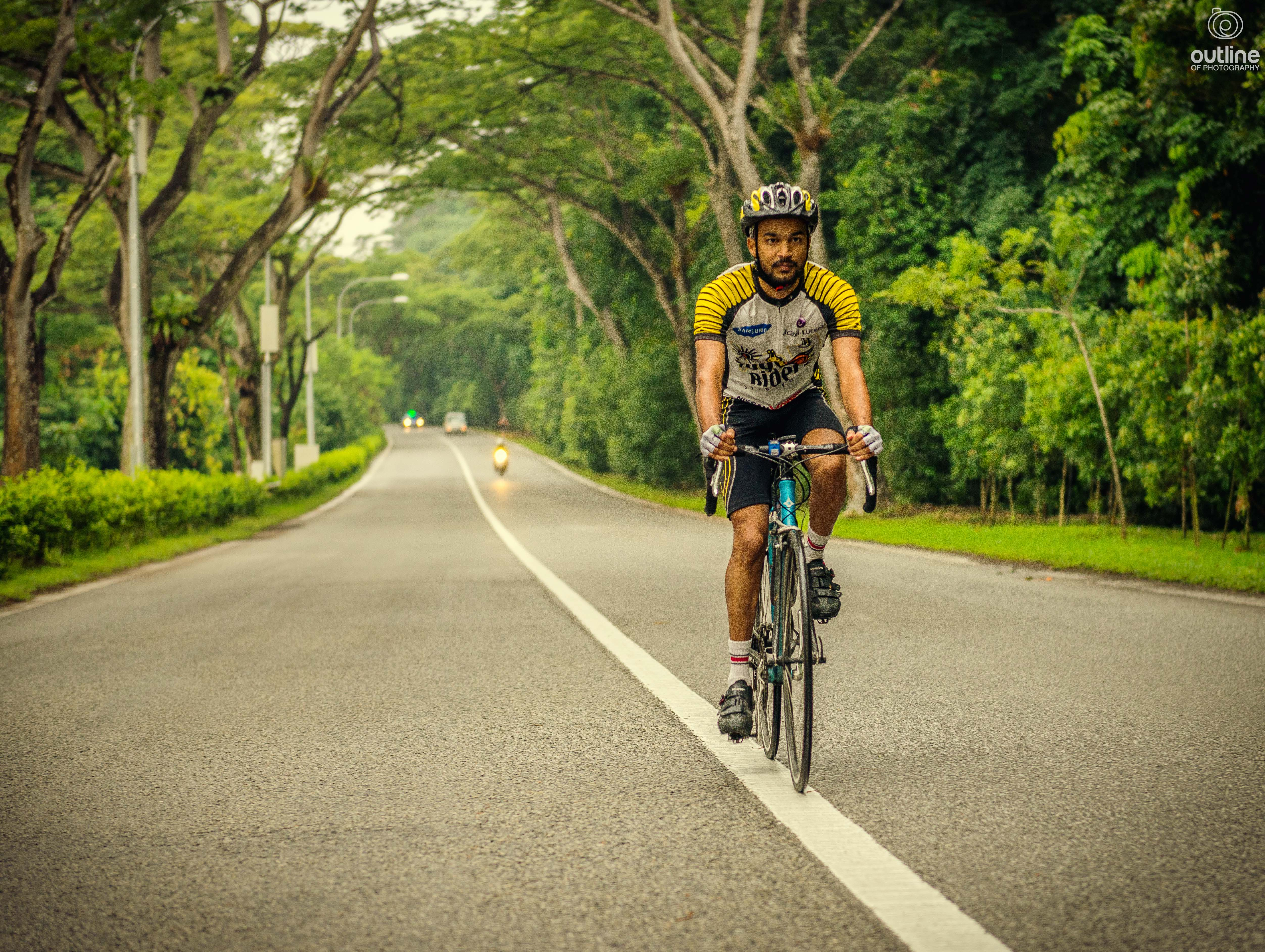 Cycling photography, Mandai Road, Upper Selator Reservoir, Singapore