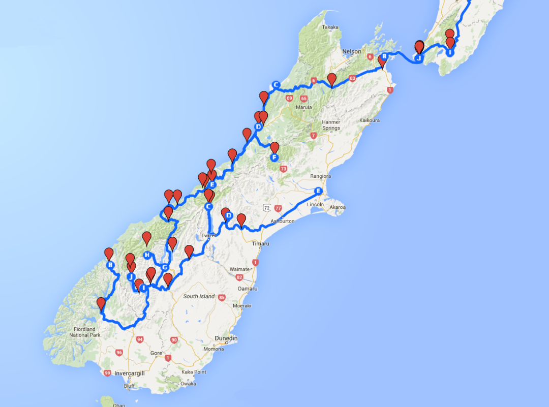 Road trip, South Island, New Zealand