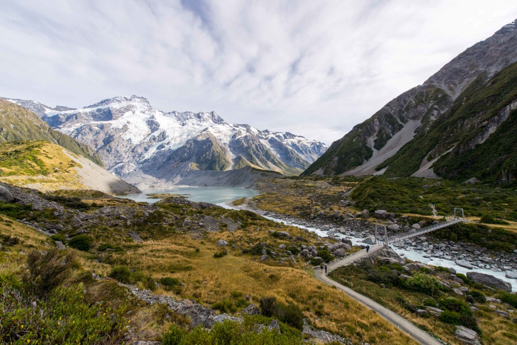 Hooker Valley track, Mount Cook, South Island, New Zealand