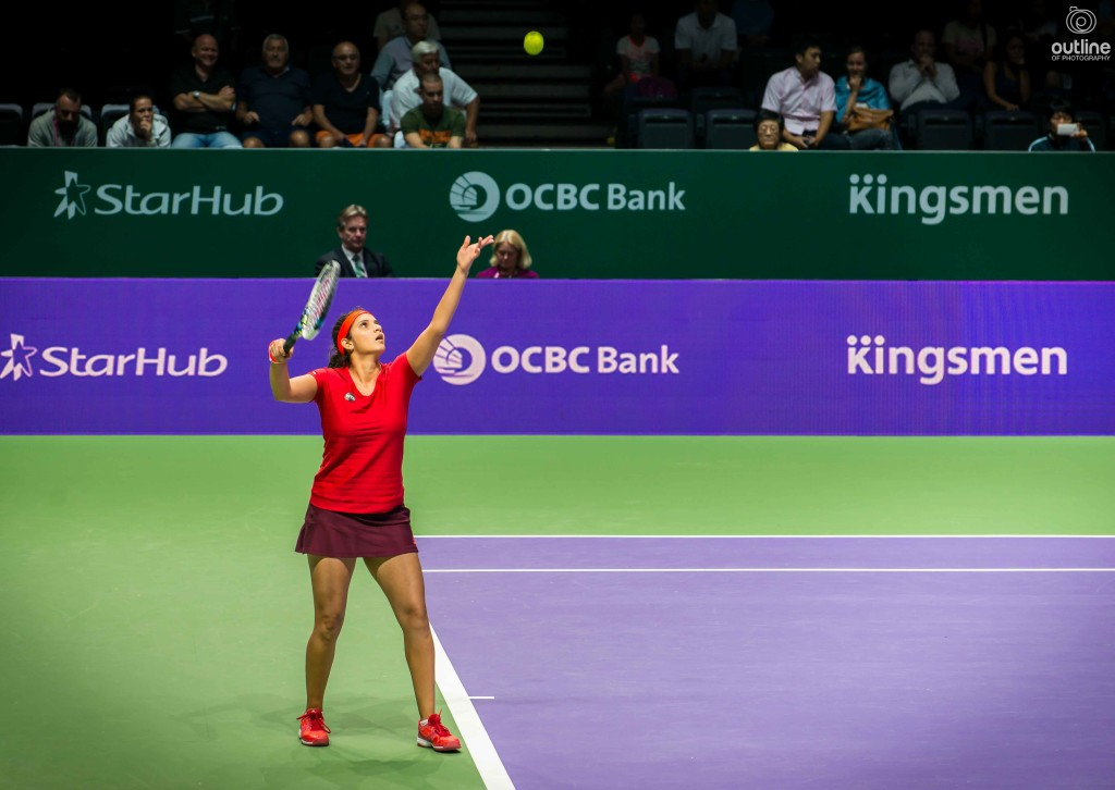 Sania Mirza, WTA Finals, Singapore, 2015