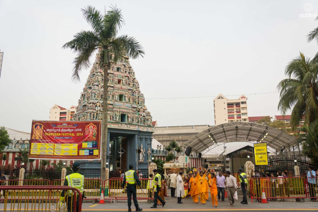Thaipusam, Sri Srinivasa Perumal Temple, Serangoon Road, Singapore